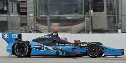 J.R. Hildebrand and Luca Filippi will be driving the No. 98 for Barracuda Racing