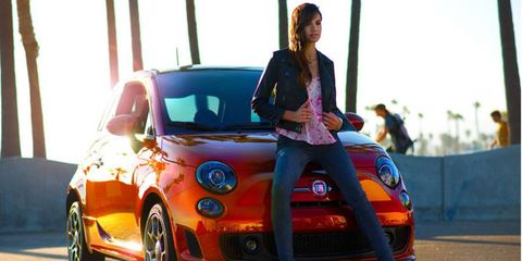 The Cattiva package will be available for the Fiat 500 Sport and 500 Turbo.