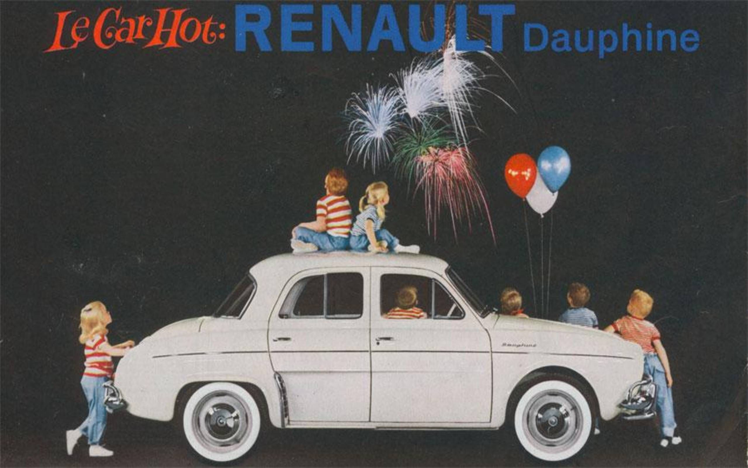 1959 Renault Dauphine Ad Promises A New French Revolution