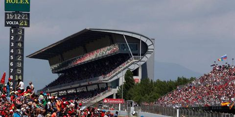The Spanish Grand Prix could be returning to Barcelona in 2014.