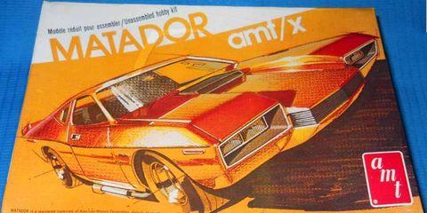 Wild Custom AMC Matador Scale Model Kit