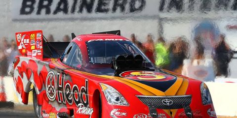 Chad Head's Toyota Camry is one of the cars to watch this week at the NHRA's U.S. Nationals at Indianapolis.