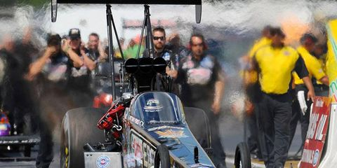 NHRA rookie Brittany Force earned the most fan votes the Top Fuel division with 49 percent.