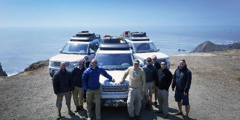 Land Rover Expedition America crossed the country almost entirely off-road.
