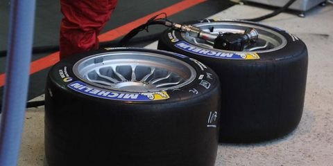 Michelin has begun talks with the FIA about the possibility of supplying tires for Formula One in 2014l.