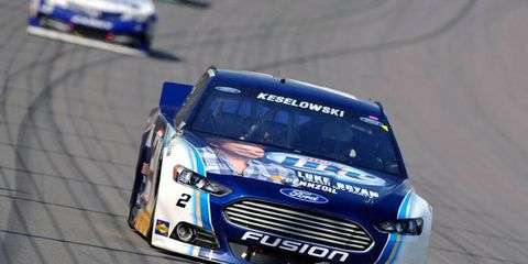 Brad Keselowski is trying hard not to become the second NASCAR Sprint Cup Series champion to miss the Chase in the season after winning the Cup.