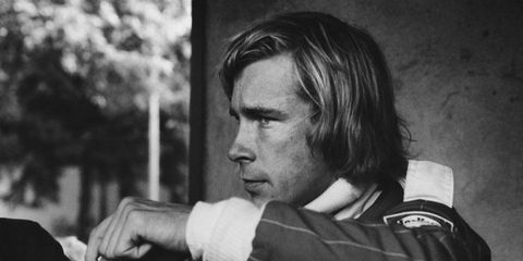 With Niki Lauda sidelined, James Hunt put pressure on his Formula One points lead.