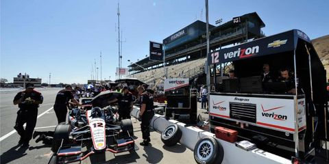 Ganassi Racing managing director Mike Hull says Team Penske's pit crew do things a little differently that the rest of the IndyCar teams.