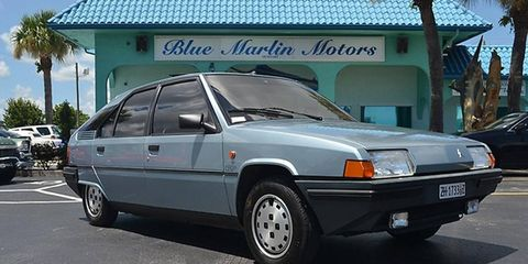 This 1985 Citroen BX 19 GT appears to have led a charmed life.