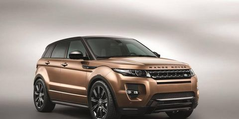 The 2014 Range Rover Evoque will have one of the first nine-speed automatics available in a passenger car.