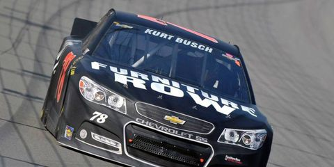 Kurt Busch is trying to make the NASCAR Chase as the single car in Furniture Row Racing's stable.