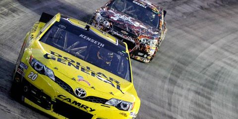 Matt Kenseth erased memories of any sort of slump with his fifth win of the NASCAR Sprint Cup Series season.