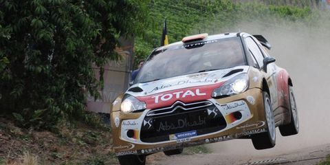 Dani Sordo held on for his first career World Rally Championship win on Sunday,