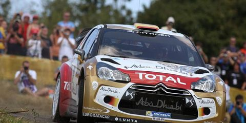 All eyes were on Dani Sordo during the second-to-last day of Rally Germany on Saturday.