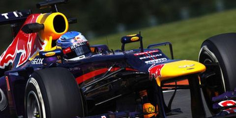 Sebastian Vettel has not been the only driver to deal with puncture problems at Spa.