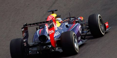 Sebastian Vettel is hoping his rivals will be looking at the rear of his car all weekend in Belgium.