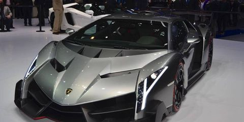 Only four Lamborghini Venenos will be built, for now.