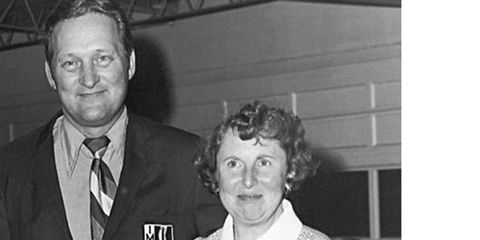 Peggy Bishop was the wife of IMSA founder and sports-car racing pioneer John Bishop.