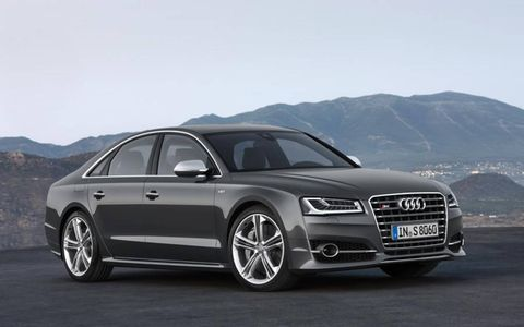 The new 2015 Audi S8 packs more V8 punch than the luxury-oriented A8 W12.
