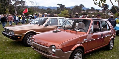 These were actually the more mainstream cars at the annual Concours d'Lemons.