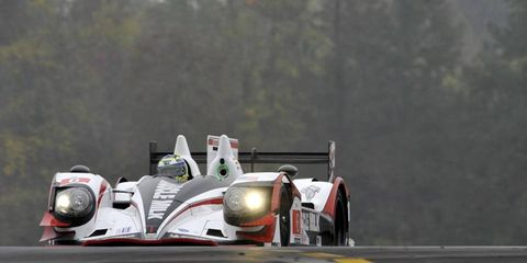 Klaus Graff got a slow start on Saturday, and it caused a large accident at the beginning of the Baltimore Grand Prix.