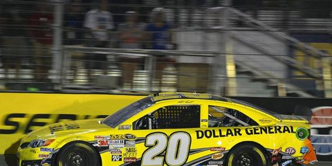 Matt Kenseth is having a strong Sprint Cup season and feels right at home with his new team at Joe Gibbs Racing.