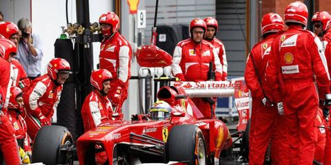 Ferrari has not yet announced whether or not Felipe Massa, who has not won an F1 race since 2009, will be back with the team next year.