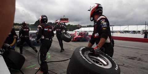 IndyCar wants to make sure pit crew members on one team do not interfere with actions of other teams and other drivers during a race.