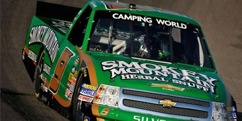 Ron Hornaday enters Sunday's NASCAR Truck Series race 12th in the points.