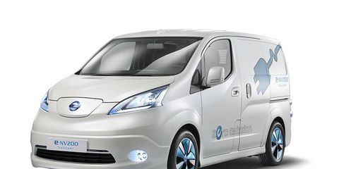 The E-NV200 will be Nissan's second all-electric vehicle.