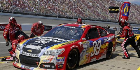 Ryan Newman will be moving from the No. 39 Chevrolet to the No. 31 Chevy beginning next season.