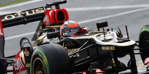 Kimi Räikkönen will be leaving Lotus after this season and returning to Ferrari, where he raced from 2007-2009.