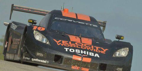 Max Angelelli and Jordan Taylor took top honors at the Grand-Am race at Mazda Raceway Laguna Seca on Sunday.
