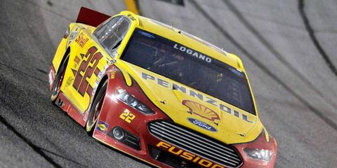 Joey Logano has not finished lower than eighth place in the past six weeks on the NASCAR Sprint Cup Series circuit.