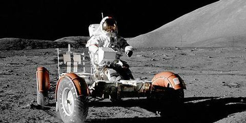 NASCAR on the moon? Well, NASCA fans will get a chance to learn about the moon this weekend at Richmond.