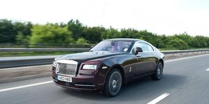 Presence, thy name is Rolls Royce Wraith.