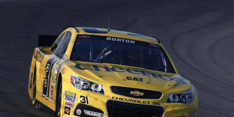 Burton currently ranks 22nd in the Cup standings and has five top-10 finishes this season.