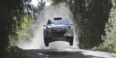 Juho Hanninen sampled an upgraded version of the i20 WRC in his native Finland last week for Hyundai.