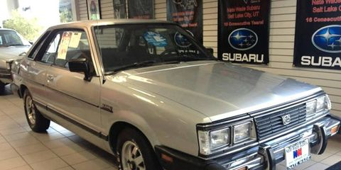 A couple antique Subarus have gotten lost inside a dealership, and have now been dusted off.