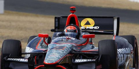 Ryan Briscoe has competed in seven IZOD IndyCar Series races this season.