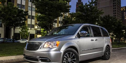 The 2014 Chrysler Town & Country will offer a number of special luxury details.
