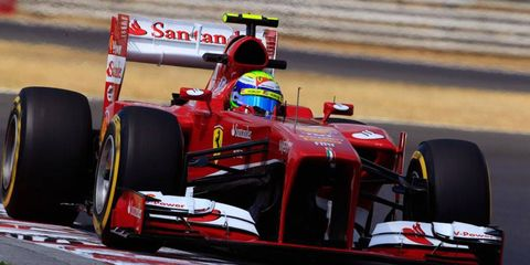 Felipe Massa is seventh in the Formula One points standings -- the same place he finished in 2012.