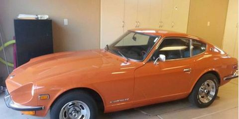 This 1972 Datsun 240Z is for sale on Craigslist through Bring a Trailer.