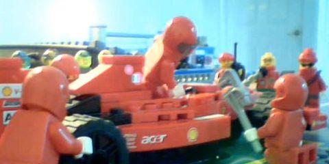 Edward Hunter made the Lego spoof