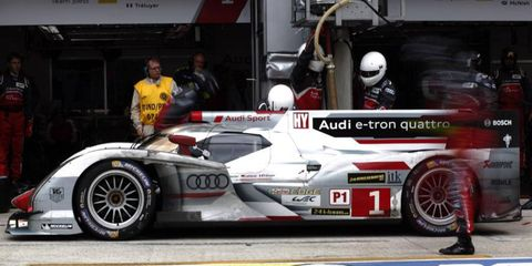Marcel Fassler, Andre Lotterer and Benoit Treluyer claimed victory in the 6 Hours of Sao Paulo for Audi .