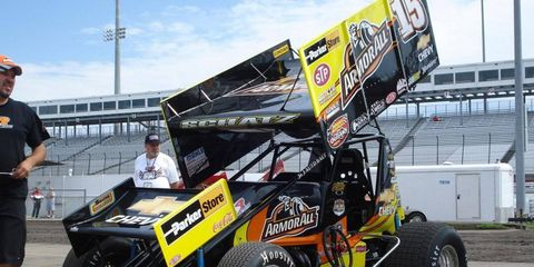 Donny Schatz saw his podium streak end on Friday, but then one the race on Saturday.