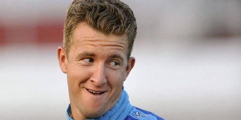 A.J. Allmendinger is all smiles these days after getting a full time NASCAR Sprint Cup ride with JTG/Daugherty Racing.