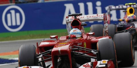 Alonso has had a successful campaign in 2013, racking up169 points and two wins.