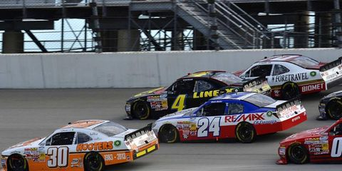 According to a report from SportsBusiness Daily, Nationwide is leaving as title sponsor of NASCAR's secondary series.