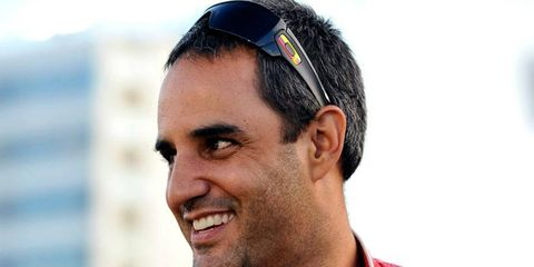 Juan Pablo Montoya says that at age 37 he's not too old to be a contender in the Izod IndyCar series.